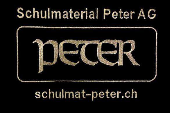 Schulmaterial Peter AG Herznach Laufenburg Aargau Schweiz Arbeitskleidung mit Werbung Flexdress Stickerei Schweiz