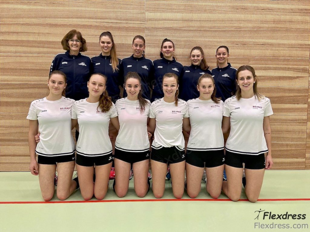 Volley Möhlin Volleyball Mannschaft 1.Liga Sportbekleidung von Flexdress Sportgeschäft Aargau Schweiz