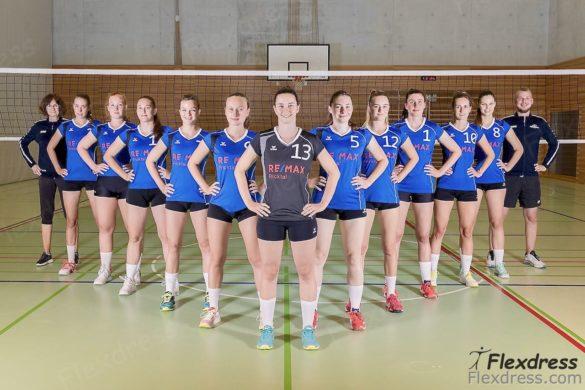 Volleyball Verein Volley Möhlin 1.Liga Flexdress Sportbekleidung Aargau Rheinfelden Schweiz